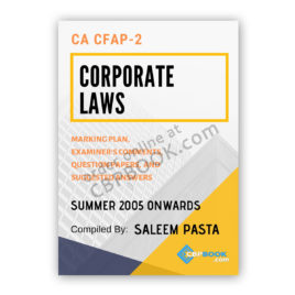 ca cfap 2 corporate law yearly past papers summer 2005 to winter 2019