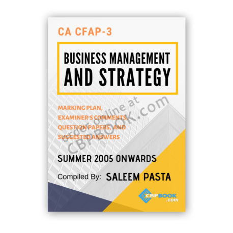 ca cfap 3 business management yearly past papers from 2005 to winter 2019