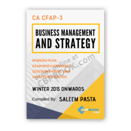ca cfap 3 business management yearly past papers from 2013 to winter 2019
