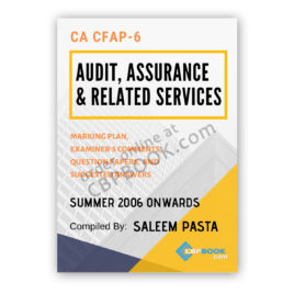 CA CFAP 6 ADVANCED AUDITING Yearly Past Papers Summer 2006 To Winter 2019