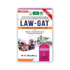LAW GAT Law Graduate Assessment Test By MA Chaudhary – Nadeem Book