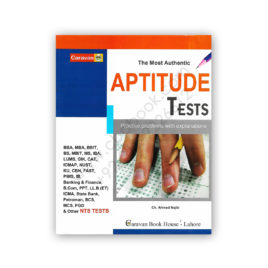 The Most Authentic APTITUDE TEST 2019 by Ch Ahmed Najib - CARAVAN BOOK