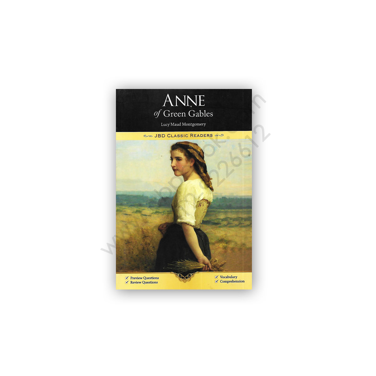 anne of green gables by lucy maud montgomery - jbd press