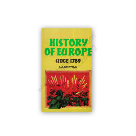 history of europe since 1789 by i j chawla1