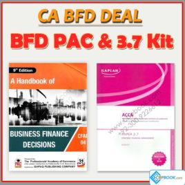 ca cfap 4 business finance decision deal (2 books) all original books for open book