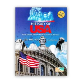 history of usa for css pms pcs by jamal abdul nasir & aamer shahzad - hsm publishers