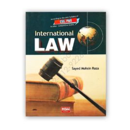 international law for css pms by syed mohsin raza - hsm publishers