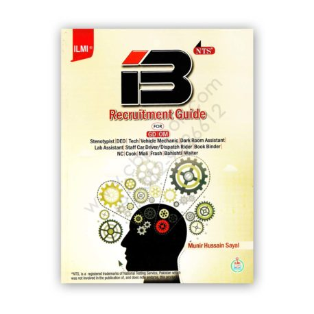nts ib recruitment guide for gd om by munir hussain sayal - ilmi