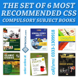 The Set of 6 MOST RECOMMENDED CSS Compulsory Subject Books