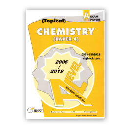 A Level CHEMISTRY Paper 4 Topical Solution 2020 Edition - REDSPOT