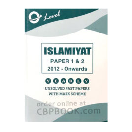 o level islamiyat paper 1 & 2 unsolved with mark scheme 2012 - onwards - sp