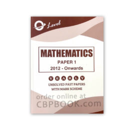 o level mathematics p1 yearly unsolved with mark scheme 2012 - onwards