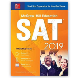 sat 2019 by christopher black 4 practice tests mcgraw hill education