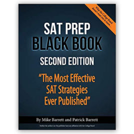 sat prep black book second edition by mike barrett and patrick barrett