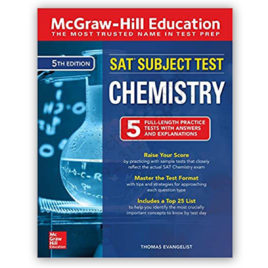 sat subject test chemistry 5th edition mcgraw hill