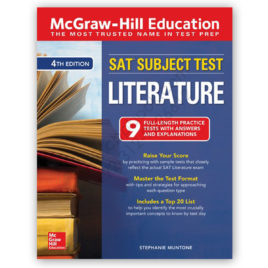 sat subject test literature 4th edition mcgraw hill