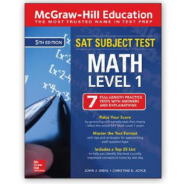 sat subject test math level 1 5th edition mcgraw hill