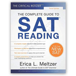 the complete guide to sat reading 3rd edition by erica l meltzer