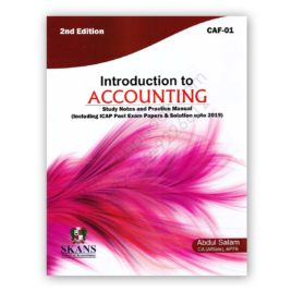 ca caf 1 introduction to accounting 2nd edition 2019 by abdul salam - skans