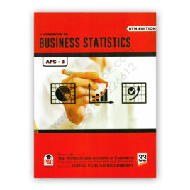 CA AFC 3 A Handbook of Business Statistics 8th Edition - PAC