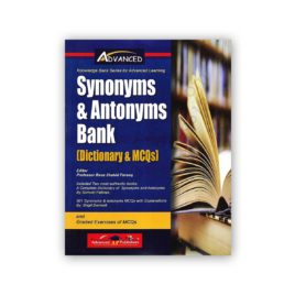 advanced synonyms & antonyms bank dictionary mcq