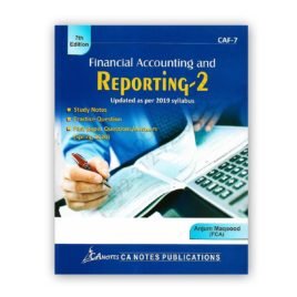 financial accounting & reporting 2 CAF-7 edition 7th by anjum maqood