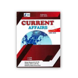 CURRENT AFFAIRS CSS 2020 2nd Ed by Saeed Ahmed Butt - AHAD