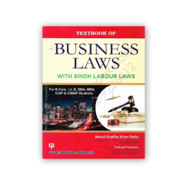 Textbook of BUSINESS LAWS By Abdul Ghaffar Khan – Gardezi