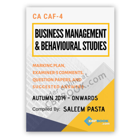 CA CAF 4 B.M.B.S. Yearly Past Papers Autumn 2014 to Autumn 2020