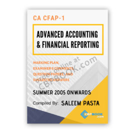 CA CFAP 1 AAFR Yearly Past Papers From Summer 2005 To Winter 2019