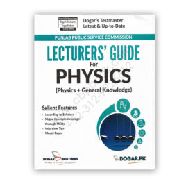 LECTURERS' GUIDE Guide For PHYSICS - DOGAR Brother
