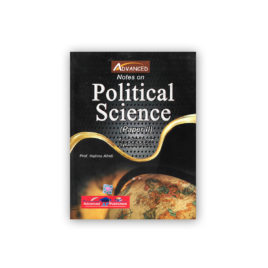 Notes on Political Science Paper 2 By Prof Halima Afridi – Advanced