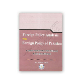 Foreign Policy Analysis By Dr Sultan Khan – Famous Books