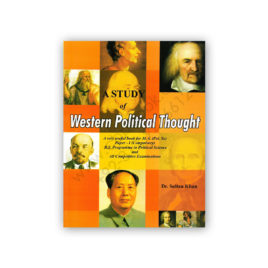 Western Political Thought By Dr Sultan Khan – Famous Books