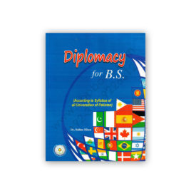 Diplomacy for B.S. By Dr. Sultan Khan – Famous Books