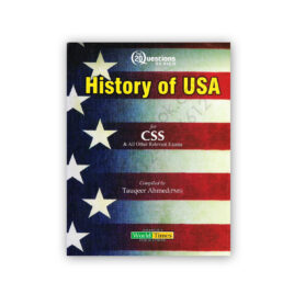 Top 20 Questions USA History For CSS By Tauqeer Ahmed - JWT