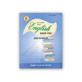 Secondary Stage ENGLISH Book One For Class IX Sindh Textbook Board
