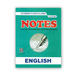 English Notes For Class IX By Dr Saifuddin