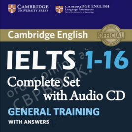 Cambridge English IELTS 1-16 General with Audio CD (Complete Set)