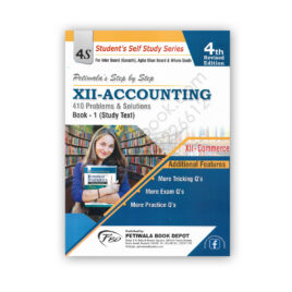 XII Accounting Book 1 (Study Text) XII Commerce - Petiwala