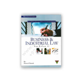 Business & Industrial Law For B Com 2 By Naveed Nawab - Topline