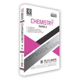 O Level Chemistry Paper 2 Topical Workbook Art226 – Read & Write
