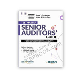 Testmaster Senior Auditors Guide – FPSC by Dogar Brothers