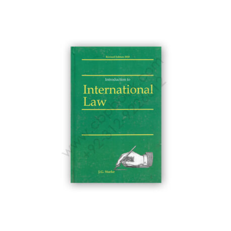 Introduction to International Law By J G Starke