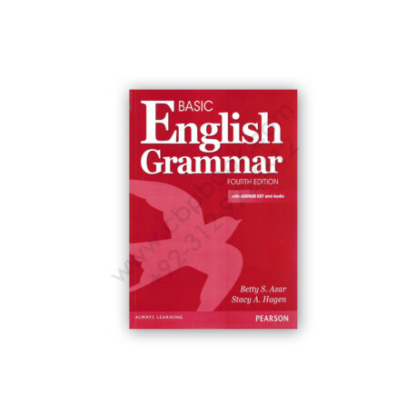 Basic English Grammar 4th Edition By Betty S Azar & Stacy A Hagen - PEARSON