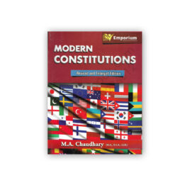 Modern Constitutions By MA Chaudhary – Emporium