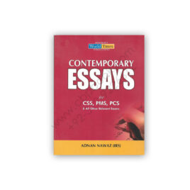 CONTEMPORARY ESSAYS For CSS PMS PCS By Adnan Nawaz - JWT