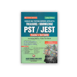 Bettani Series IBA Sukkur PST | JEST Teacher Guide (2021) – Allied Technical