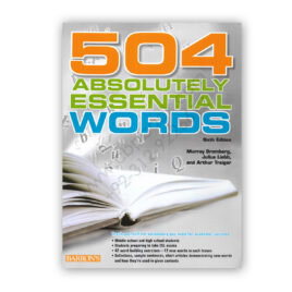 Barron's 504 Absolutely Essential Words Sixth Edition