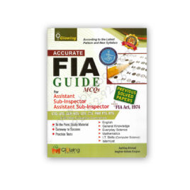 Accurate FIA Guide MCQs For Sub-Inspector, Assistant - Glowing